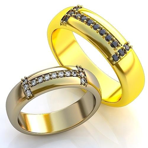 d9edbd125f8f Эксклюзивные обручальные кольца в классическом стиле с драгоценными  камнями. Вес от 6 г.